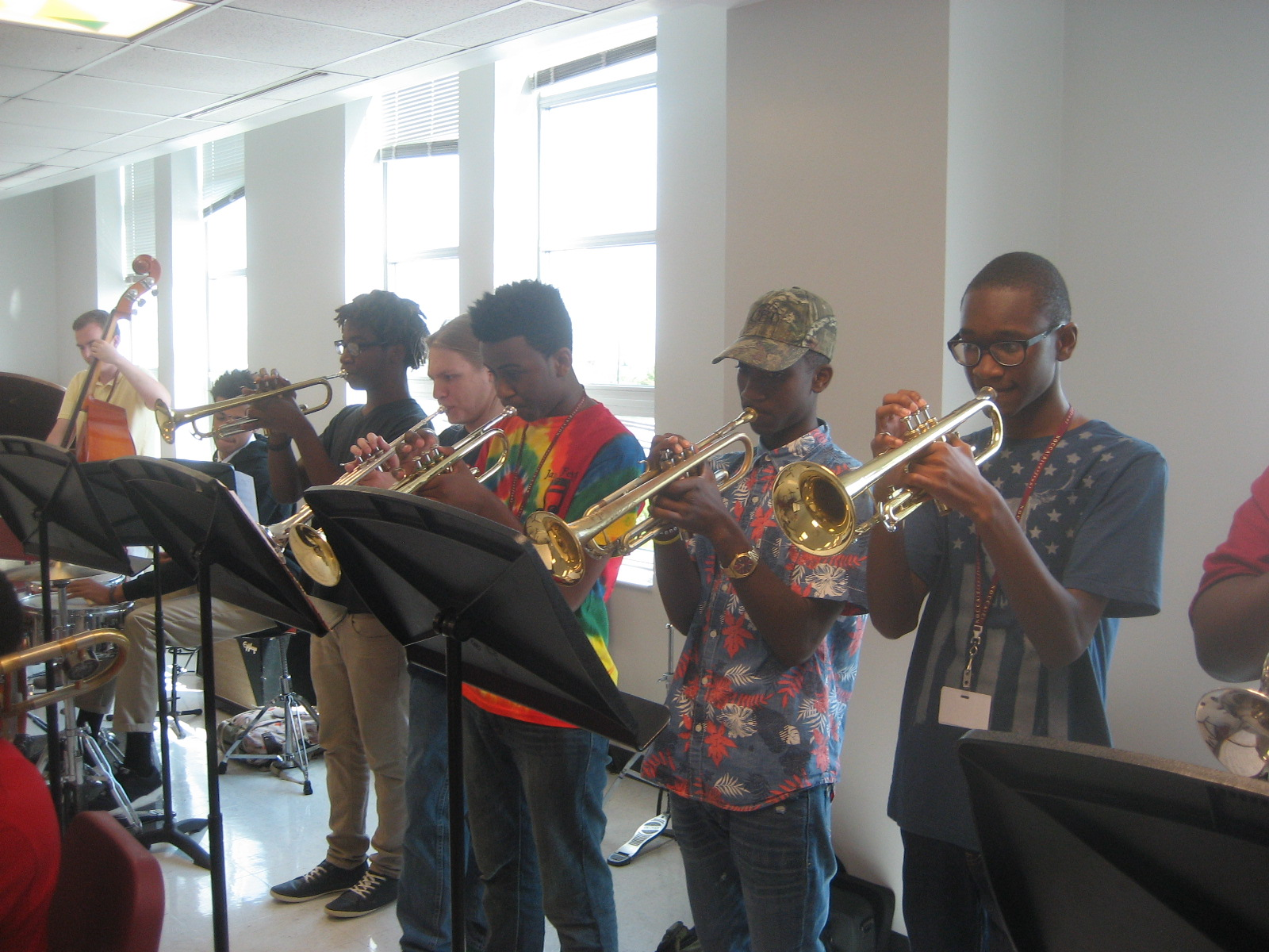 Pictures Of The Day Jazz Big Band Rehearsal Http Www